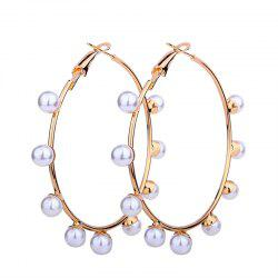 Geometric Circle Simple Earrings -