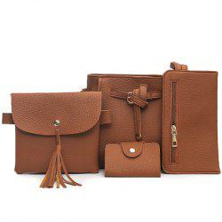 Four Pieces of Simple Casual Shoulder Messenger Bag -