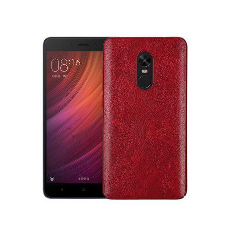 Fancy Cover Case for Redmi Note 4X / 4 Following From Crazy Ma Wen Leather Grain + PC