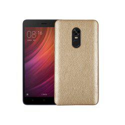 Cover Case for Redmi Note 4X / 4 Following From Crazy Ma Wen Leather Grain + PC -
