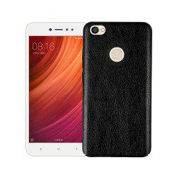 Cover Case for Xiaomi Redmi Note 5A Prime Following From Leather Grain + PC -