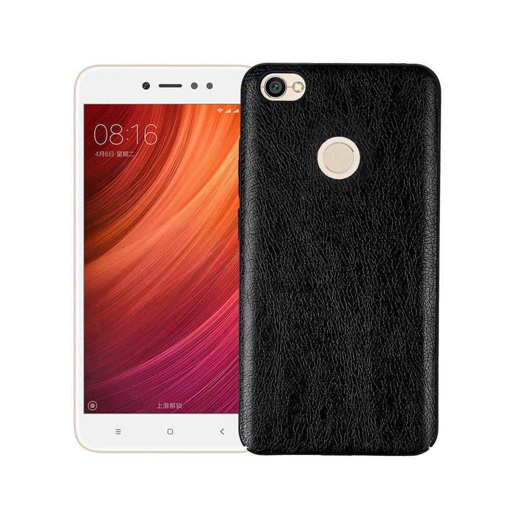 Hot Cover Case for Xiaomi Redmi Note 5A Prime Following From Leather Grain + PC