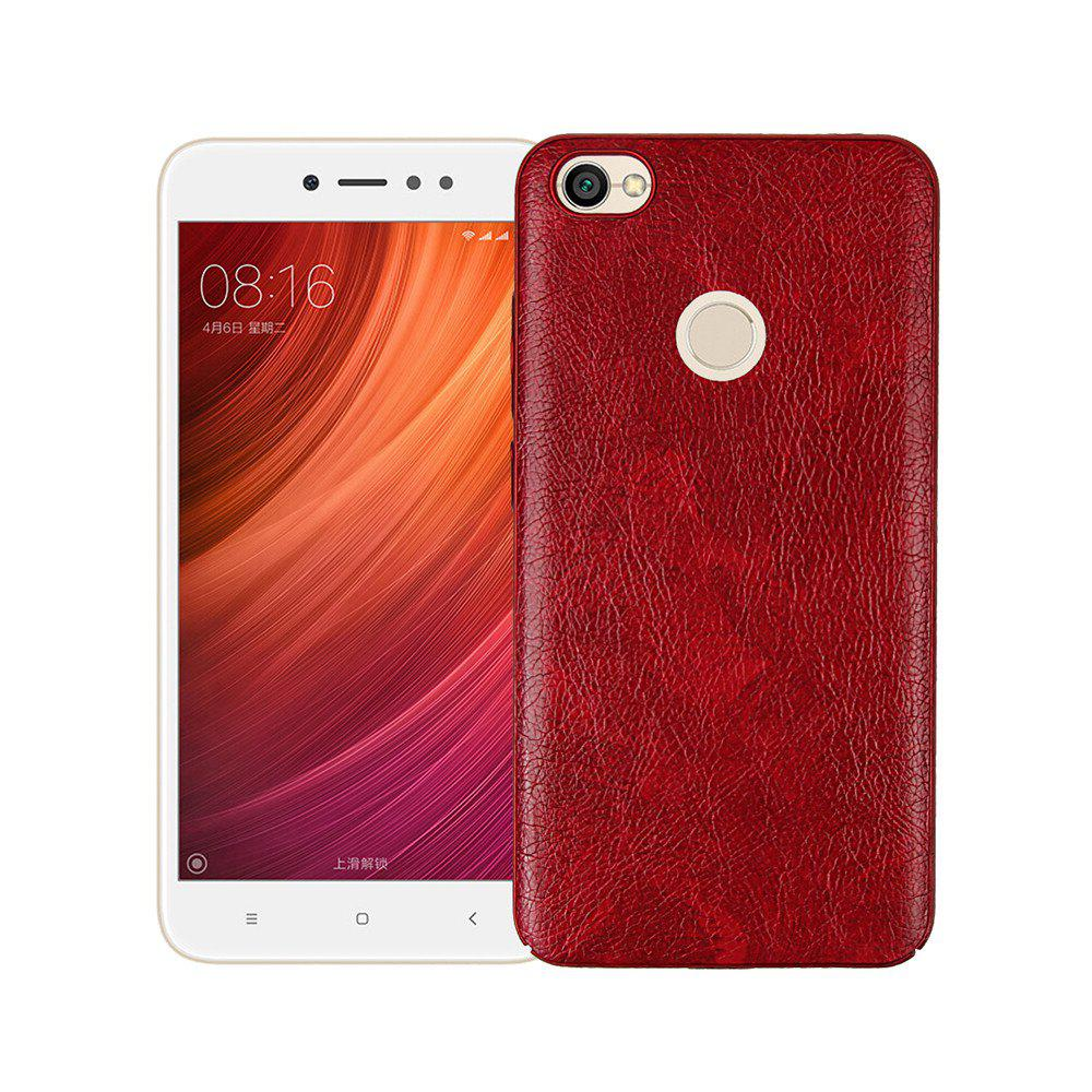 Shops Cover Case for Xiaomi Redmi Note 5A Prime Following From Leather Grain + PC