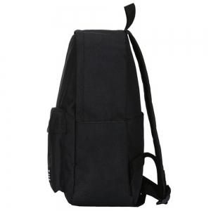 Men's Backpack Solid Color Casual Chic Large Capacity Schoolbag -