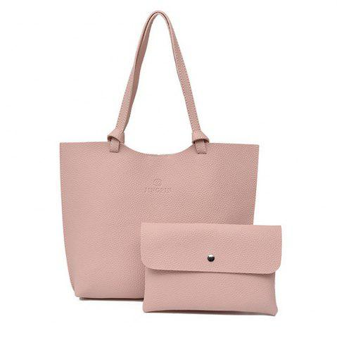 Sale Women's Shoulder Bag Solid Color Preppy Style All Match Bags Set