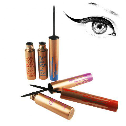 Hot GORON 8083 Waterproof Black Liquid Eyeliner Long Lasting 1pc