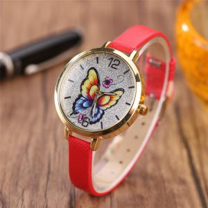 Khorasan Butterfly Ladies Leisure Personality Quartz Watch -