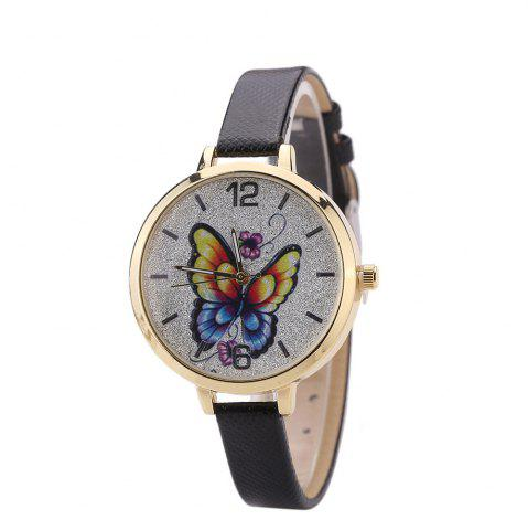 Hot Khorasan Butterfly Ladies Leisure Personality Quartz Watch