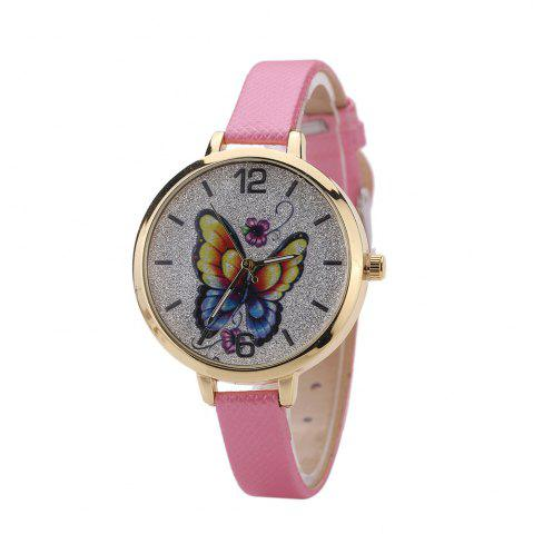 New Khorasan Butterfly Ladies Leisure Personality Quartz Watch