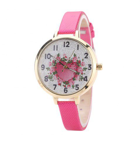 Cheap Khorasan The Rose Heart Type Literally Wears A Quartz Watch