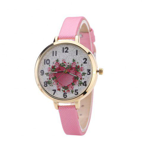 Trendy Khorasan The Rose Heart Type Literally Wears A Quartz Watch