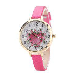 Khorasan The Rose Heart Type Literally Wears A Quartz Watch -