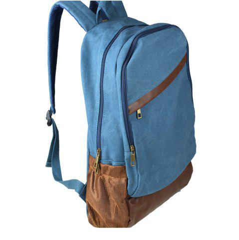 Outfits 1Pc Canvas Backpack Travel Shoulder Bag School Bags