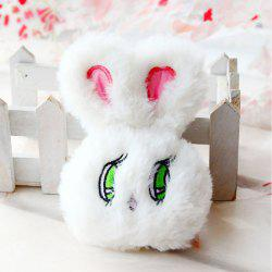 Wego Rabbit Doll Plush Toy Pendant Key Chain -