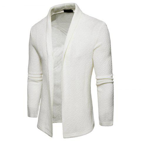 Trendy The New Spring Fashion Men Polo Shawl Knitted Cardigan Sweater