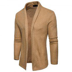 The New Spring Fashion Men Shawl Knitted Cardigan Sweater -
