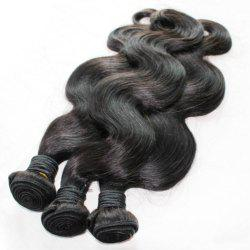Body Wave 100 Percent Brazilian Human Hair Weave 18 inch 4pcs/lot -