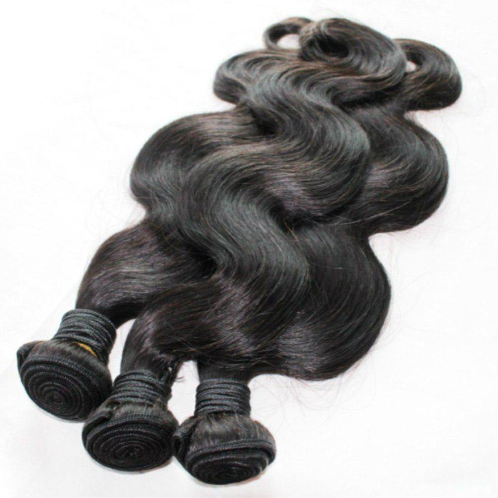 Buy Body Wave 100 Percent Brazilian Human Hair Weave 18 inch 4pcs/lot