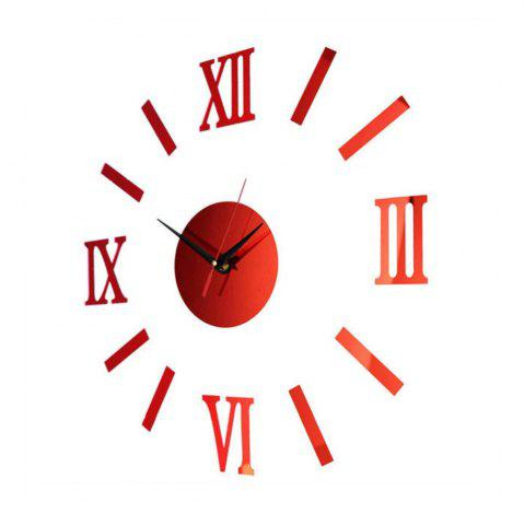 New Unique Design Round Modern Style Wall Stickers Clock Decoration