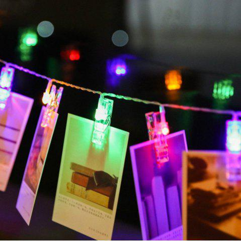 Fashion Photo Card Wall Clip Fairy LED String Light Holiday Decoration
