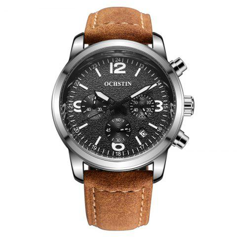 Shops OCHSTIN GQ047A Military Men Analog Leather Quartz Watch
