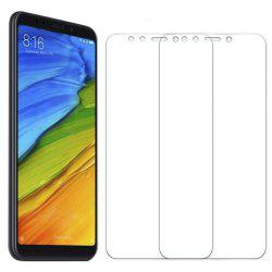 2PCS Screen Protector for Xiaomi Redmi 5 Plus HD Full Coverage High Clear Premium Tempered Glass -