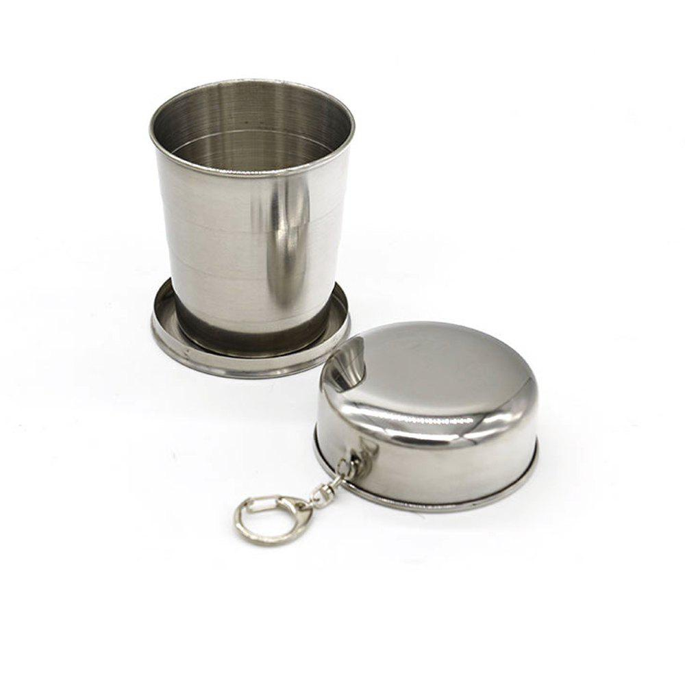 Creative Stainless Steel Retractable Cup Portable Outdoor Wine Cup. 254368101