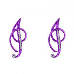 New Design Inspired 26 Letters Stud Earrings Fashion Temperament Fashion Accessories for Women -