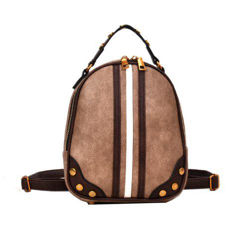 Chic Wild Messenger Hit Color Shoulder Bag Handbag Female