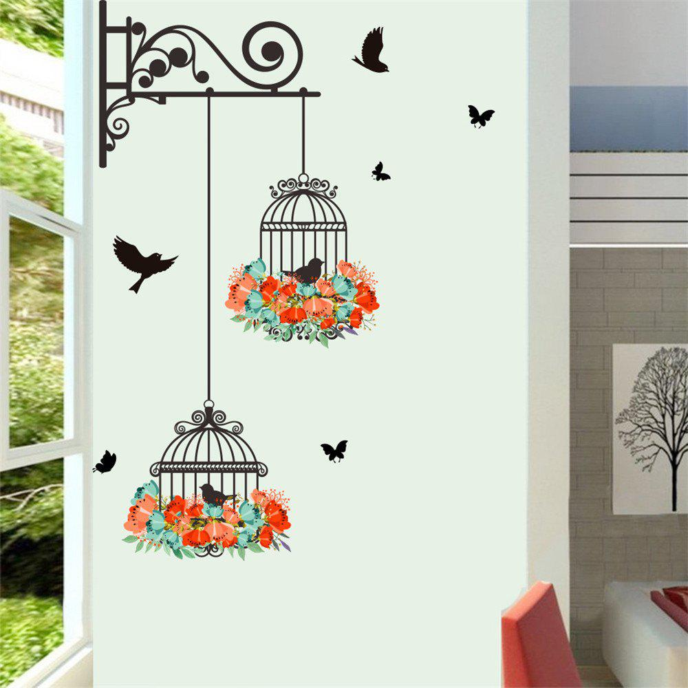 Affordable Birdcage Decorative Wall Stickers for Home Decoration
