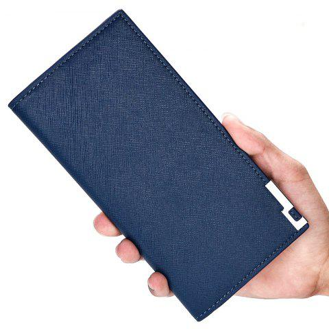 Latest Creative New Men's Wallet Long The Soft-Skin