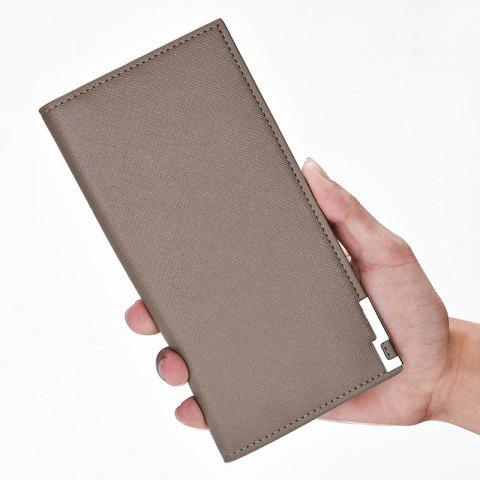 Buy Creative New Men's Wallet Long The Soft-Skin