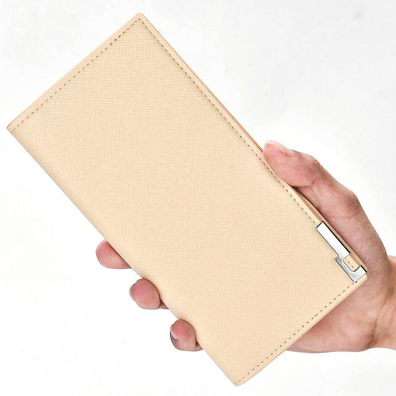 Discount Creative New Men's Wallet Long The Soft-Skin