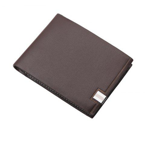 Chic Hengsheng Men's Short Cross-Section Wallet Japan and South Korea Students trendy Fashion