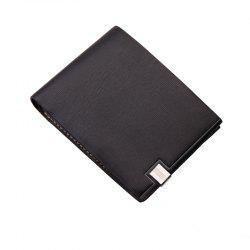 Hengsheng Men's Short Cross-Section Wallet Japan and South Korea Students trendy Fashion -