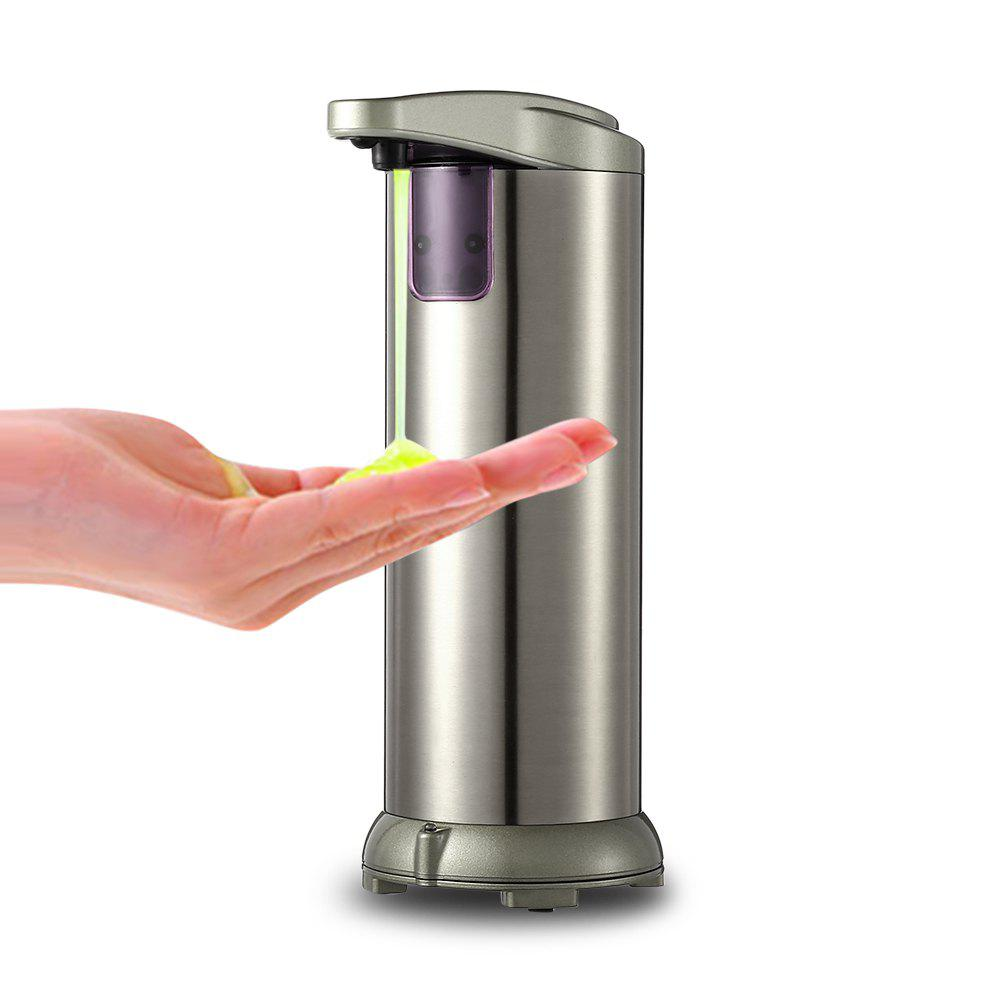Shop 280ml Electroplated Automatic Soap Dispenser Touch-free Sanitizer Dispenser Built-in Infrared Smart Sensor