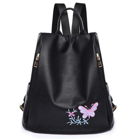 Discount Embroidered Shoulders Female Fashion Mommy Backpack