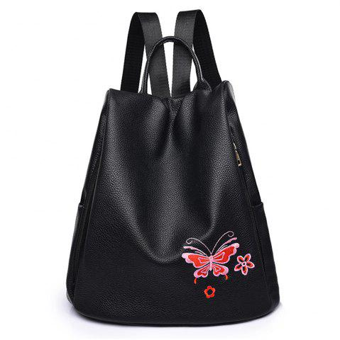 Cheap Embroidered Shoulders Female Fashion Mommy Backpack