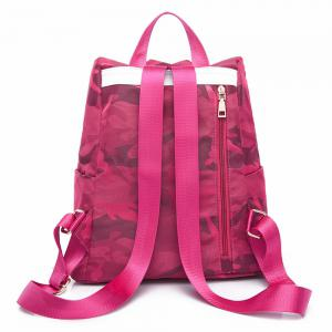 Nylon Simple Fashion Personality Mummy Backpack Package -