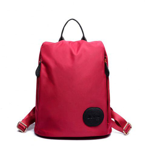 Trendy Female Nylon Oxford Canvas Fashion Personality Wild Small Bag Student Backpack