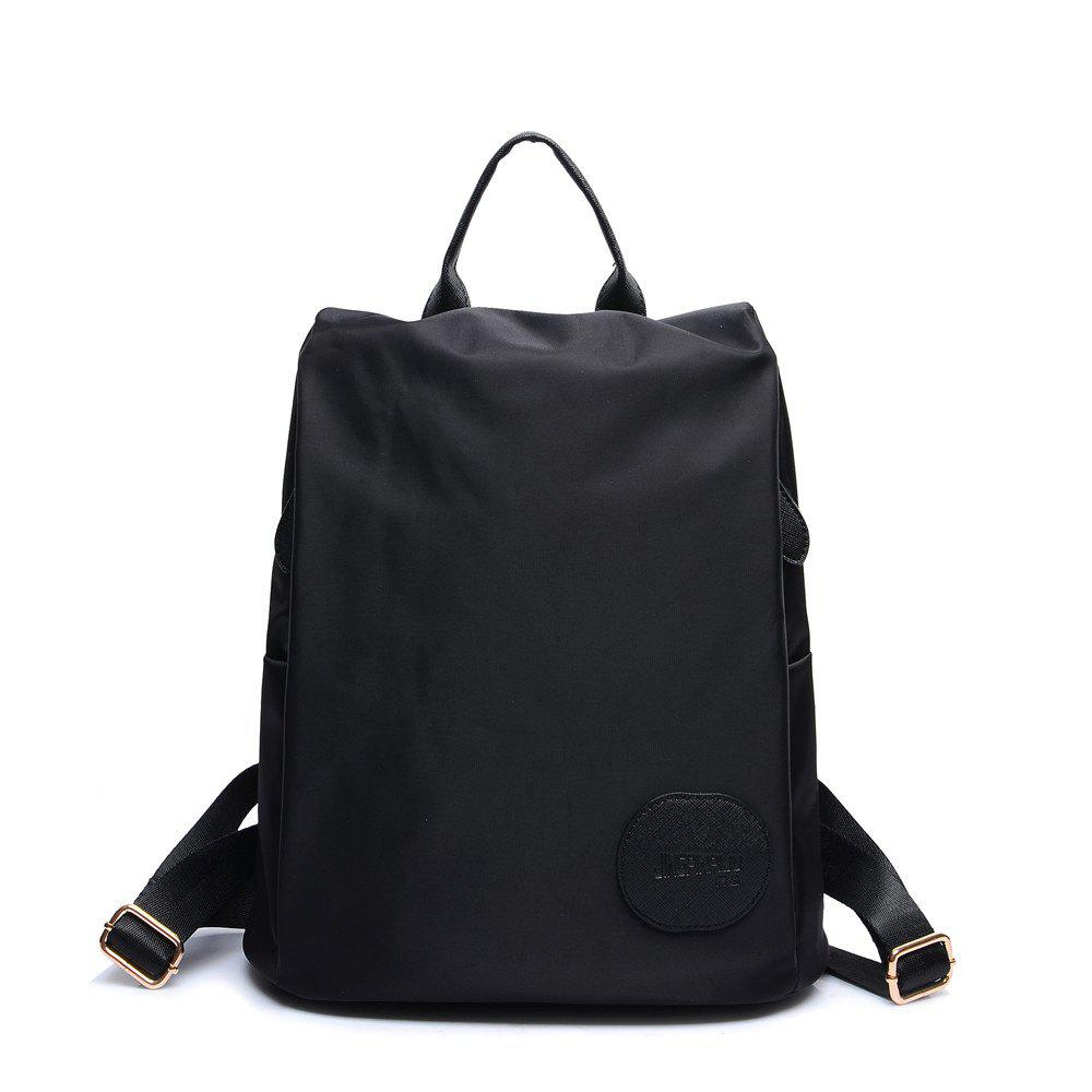 Affordable Female Nylon Oxford Canvas Fashion Personality Wild Small Bag Student Backpack