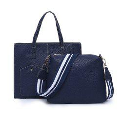 Women's Wild Two-piece Large-capacity Portable Shoulder Large Bag -