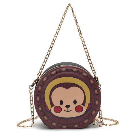 Sale Bag Female Fashion Wild Pattern Purse Simple Shoulder Diagonal Chain Package