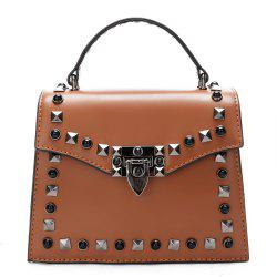 Handbag Fashion Rivets Small Square Shoulder Bag -
