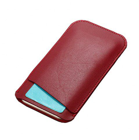 Unique Charmsunsleeve For UMIDIGI G 5.0 inch Case Ultra-thin Microfiber Leather Phone Sleeve Bag Card Pocket