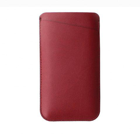 Discount Charmsunsleeve For UMIDIGI C2 5.0 inch Case Ultra-thin Microfiber Leather Phone Sleeve Bag Card Pocket