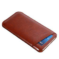 Charmsunsleeve For UMIDIGI Z1 5.5 inch Case Ultra-thin Microfiber Leather Phone Sleeve Bag Card Pocket -