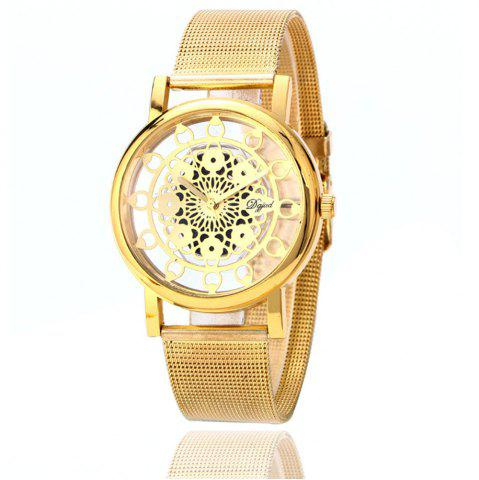 Latest Hollow Stylish Stainless Steel Mesh Band Watch