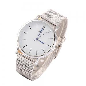 Stylish Casual Stainless Steel Band Men Watch -