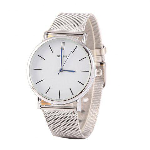 Discount Stylish Casual Stainless Steel Band Men Watch